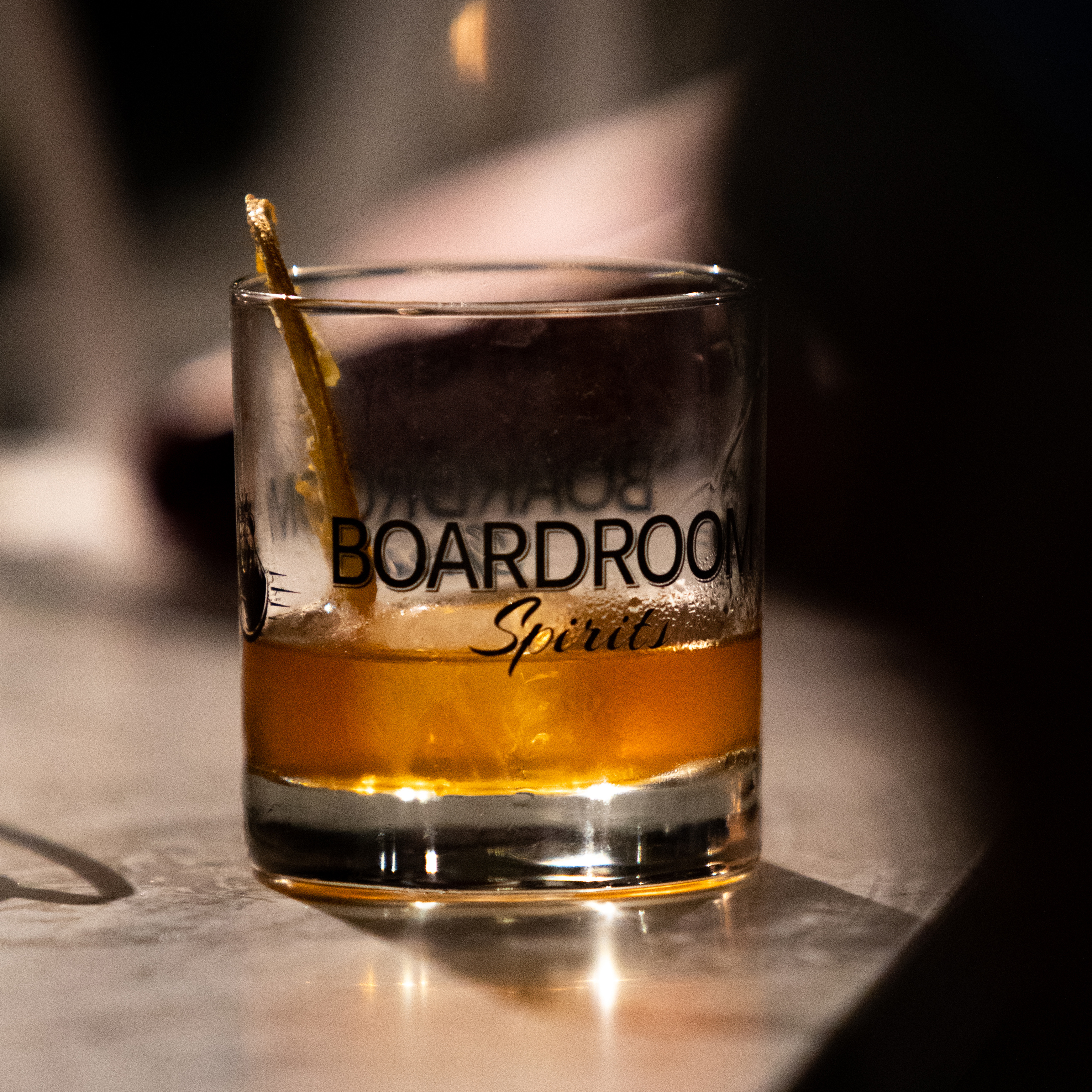 Boardroom Spirits Smoked Old Fashioned